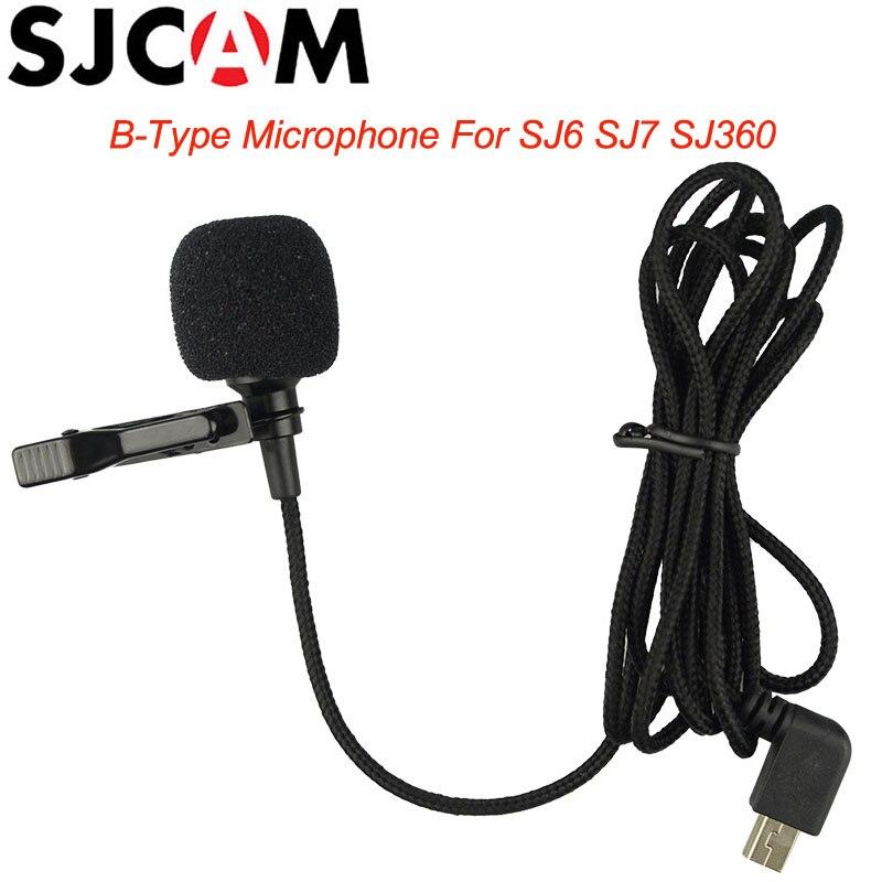 Original SJCAM marca mic micrófono externo con clip para SJCAM SJ6 leyenda/SJ7 estrella/SJ360 deportes acción Cámara accesorios