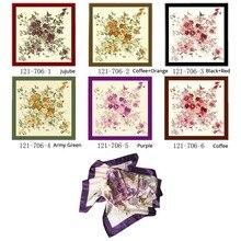 women square scarfs neckerchief bandana foulard satin polyester fashion beauty gift for 90cm hijab silk scarf