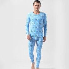Men's Long Johns Warm Underwear Sets 2020 Autumn Winter Fash
