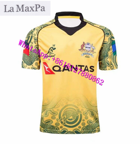 La MaxPa Top Quality 2016 New Ireland Rugby Jerseys 2017/18 Australia Rugby South Africa jerseys Japan Free shipping t shirts