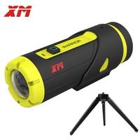 XM H.265 1080P Full HD Sports Action Camera 16GB Card 3400 Battery Wifi Video DV Mini Waterproof Cam Recorder With Tripod