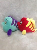Two Colors Flounder Plush Lovely Flounder Toy Plush Fish Doll Cute Fish Pillow Birthday Gift About