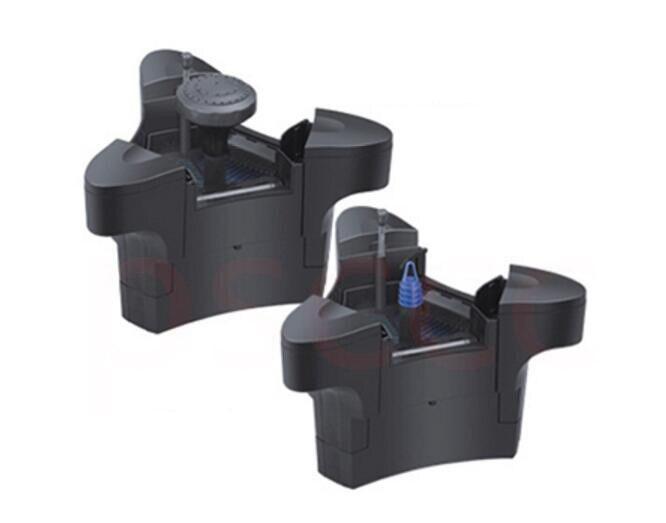 45 W étang flottant écumeur flottant collecteur d'huile flottant fontaine membrane équipement de filtration feuilles. + filtre de fontaine-in Filtres et accessoires from Maison & Animalerie    1
