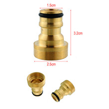 3/4″ Brass Male Quick Connector Adaptor Hose Pipe Tube Spray Nozzle Garden Watering Equipment Mayitr