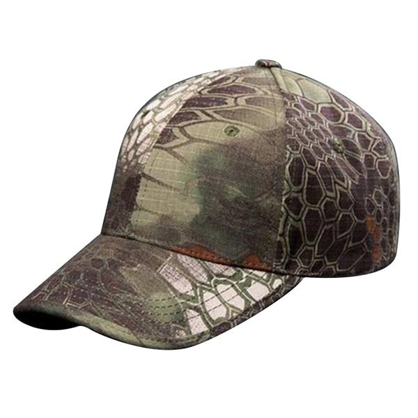 Composite Bats Men Camouflage Adjustable Baseball Cap Hunting, Fishing , Mountain Color
