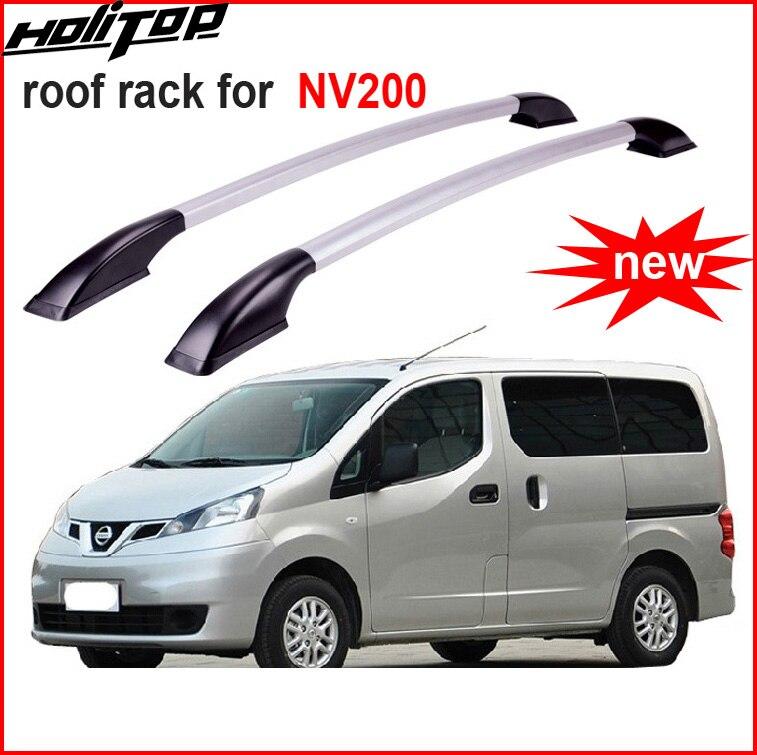 Новое поступление стойки рейлинге крест стойки луч для Nissan NV200, алюминиевый сплав + ABS, OE модель, украсить ваш автомобиль, Азии Бесплатная дос...