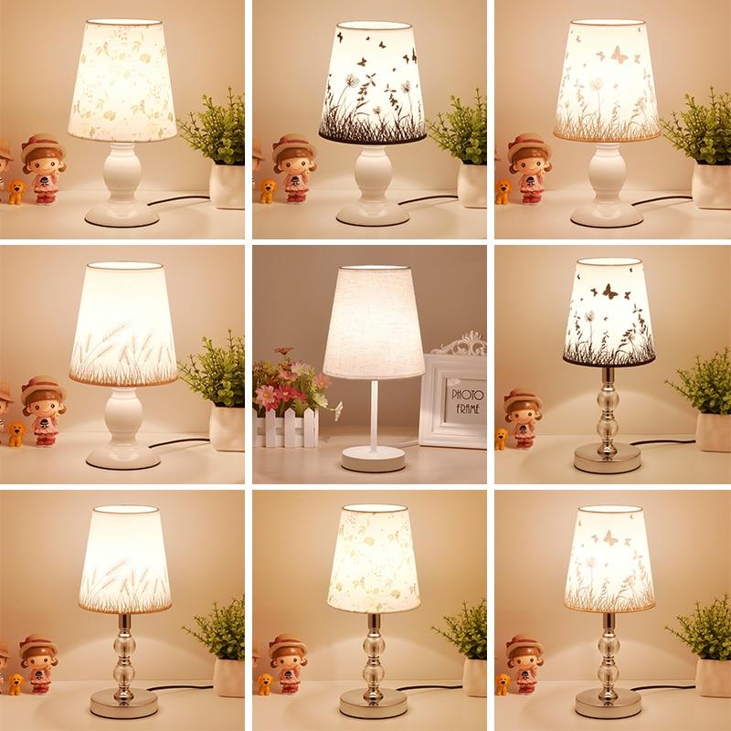Lampes De Table en cristal pour Chambre salon LED Lampe De Chevet Art Lampe De lit moderne décoration De noël Lampe De Chevet De Chambre