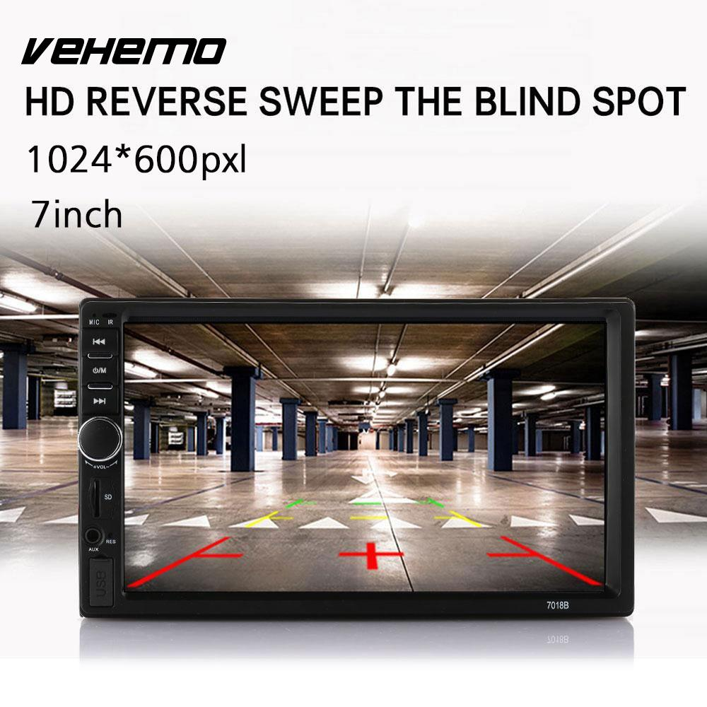 Vehemo Touch Screen Bluetooth Car MP5 Reverse Monitor Car MP5 Player GPS Navigation FM Radio Hands-Free car fm transmitter kit bluetooth hands free radio adapter mp3 player lcd charger 220130