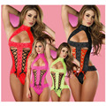 Sexy lingerie hot perspective lace Gauze lenceria sexy babydoll SM cosplay intimates erotic lingerie sexy costumes slip 3 colors