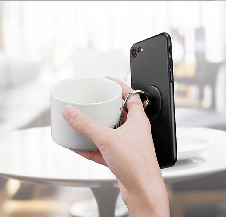 Anello di barretta Del Telefono Mobile Smartphone Supporto Del Basamento Per iPhone X 5 6 6 S 7 8 Più Smart Phone Supporto Del Basamento Per samsung Huawei caso