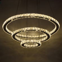Modern LED Crystal Chandelier Lights Lamp For Living Room Cristal Lustre Chandeliers Lighting Pendant Hanging Ceiling Fixtures