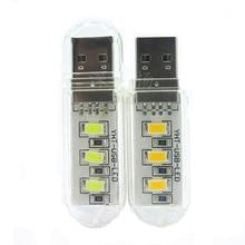 IVYSHION мини USB светодиодный светильник портативный 3/8 светодиодный s Ночной светильник Настольная лампа теплый белый светильник светодиодный светильник для внешнего аккумулятора ПК ноутбука лампа