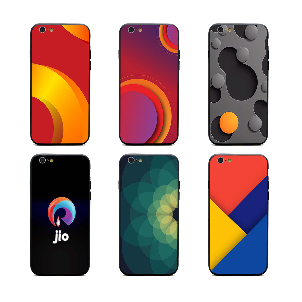 buy popular b5bae 7f864 US $1.64 34% OFF|jio phone case download TPU+PC Black covers for iPhone X 6  6s 7 8 plus 5 5s se for Apple best High Quality Housing-in Half-wrapped ...