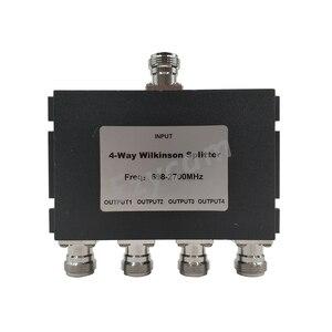 Image 5 - 4 yönlü Güç Bölücü 698 ~ 2700 MHz N dişi 4 yönlü Güç Bölücü cep telefonu Sinyal Güçlendirici tekrarlayıcı Amplifikatör Anten Kablosu