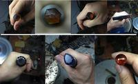 gem faceting machine manipulator grinding hand jewelry stone Angle polishing bar 96 64 32index