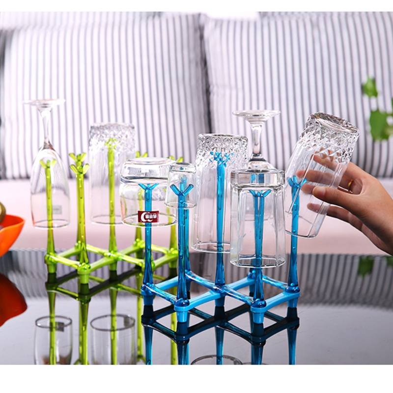 2018 New Baby Feeding Bottle Rack Drying Nipple Stand Cup Storage Folding Drainer Dryer