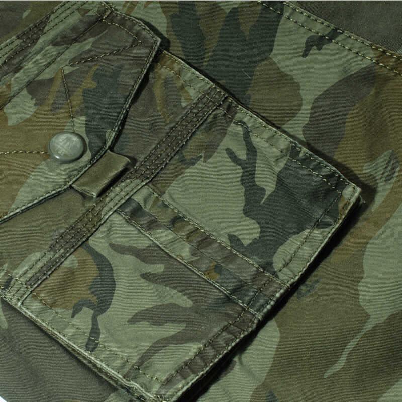 Pantalones cortos de camuflaje de carga para hombre 2019 nuevos pantalones cortos casuales para Hombre Pantalones cortos de trabajo sueltos para Hombre Pantalones cortos militares talla grande 29-44