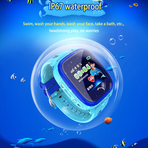 Image 2 - DF25 IP67 GPSสมาร์ทนาฬิกากันน้ำเด็กนาฬิกาเด็กสัมผัสหน้าจอSOSโทรSafe Anti Lost PK Q50 q90