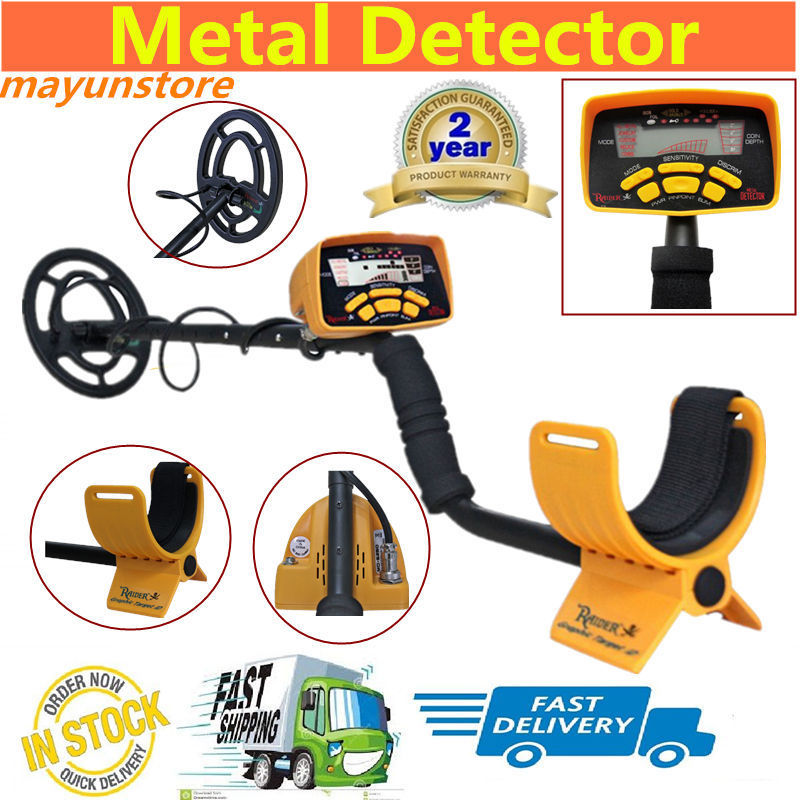 Professional Metal Detector High Performance Underground Metal Detector MD6250 Three Detect Mode Coins Jewelry All Metal
