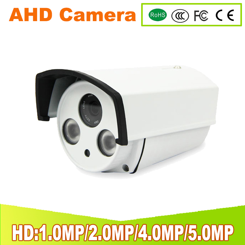 YUNSYE AHD CCTV Camera IR Cut Filter 1MP 2MP 4MP 5MP AHD Camera 720P Outdoor Waterproof Bullet Home Surveillance Security Camera