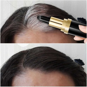 Image 4 - One Time Hair dye Instant Gray Root Coverage Hair Color Modify Cream Stick Temporary Cover Up White Hair Colour Dye 3.8g