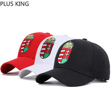 2019 New Hungary National Flag Embroidered Baseball Cap for Men Women Hungarians Red Black White 3 Colors