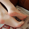 36# silicone female feet model with inner-bone inside,toe can move freely,shoe model F-506