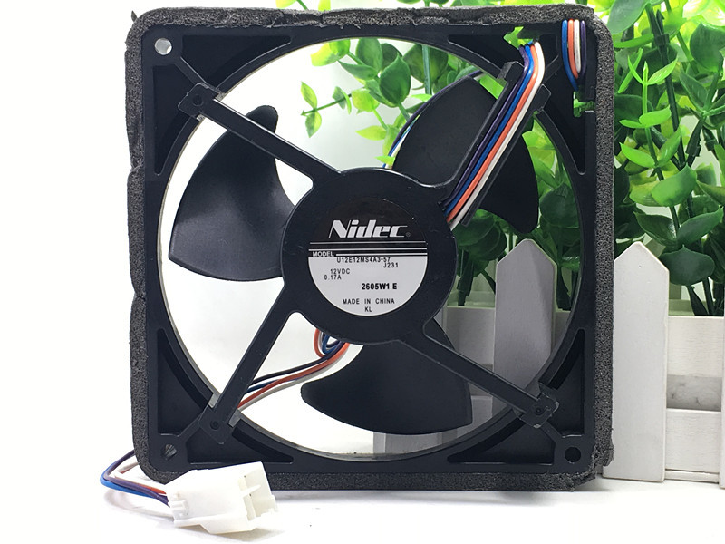 все цены на Original Nidec U12E12MS4A3-57 J232 DC 12V 0.17A Waterproof Silent Cooling Cooler Fan