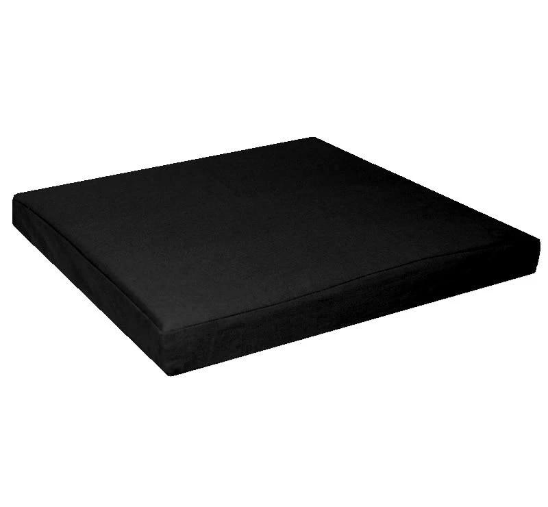 aa132t White Cotton Canvas 3D Box Square Sofa Seat Cushion Cover*Custom Size*