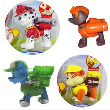 1pcs Puppy Patrol Dog Anime Transformation Toys Cartoon Action Figure Patrulla Canina Toys Juguetes for Children Gifts