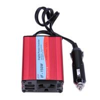 Portable DC 12V To AC 220V 150W Modified Refit Sine Wave Digital Power Motor Car Inverter