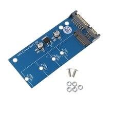 M2 следующего поколения Форм-фактор SSD SATA3 SSD SATA карты расширения адаптер SATA M2 конвертер