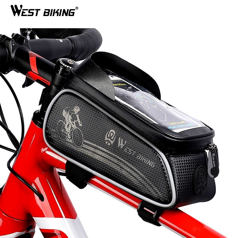Bicycle Accessories Sports & Entertainment Sunny Rockbros Bicycle Bag For Bike Repair Tools Tube Frame Bag Bike Accessories Rainproof Mtb Road Cycling Water Bottl Multi Tool Bag