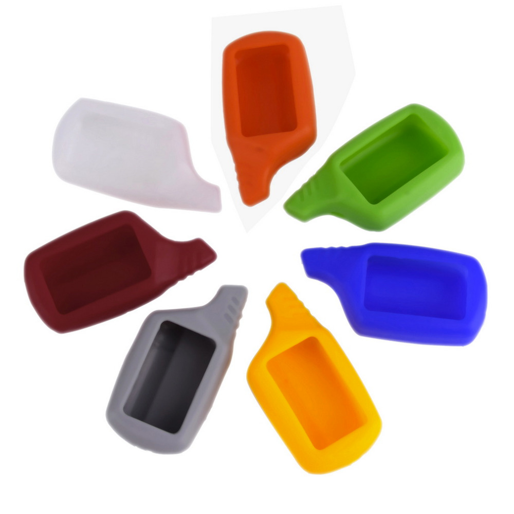 Hot Selling High Quality Mini Silicone Case Shell Colorful Cover Case for Auto Alarm Remote Control Car key silicone case