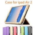 Высокое Качество Мода Кожаный Чехол Для iPad Air2 Случае Роскошный 9.7 дюймов откидная Крышка Для iPad Air 2 Оболочки Для iPad 6 Крышку Планшета ПК