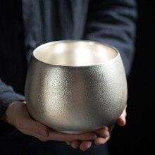 TANGPIN 999 серебряные и керамические чайные церемонии наборы ручной работы китайский кунг-фу Чайные Аксессуары