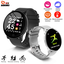 New Smart Health Bracelet Men women Heart rate Blood pressure monitor Sports mode Watch Fitness Tracker Waterproof clock