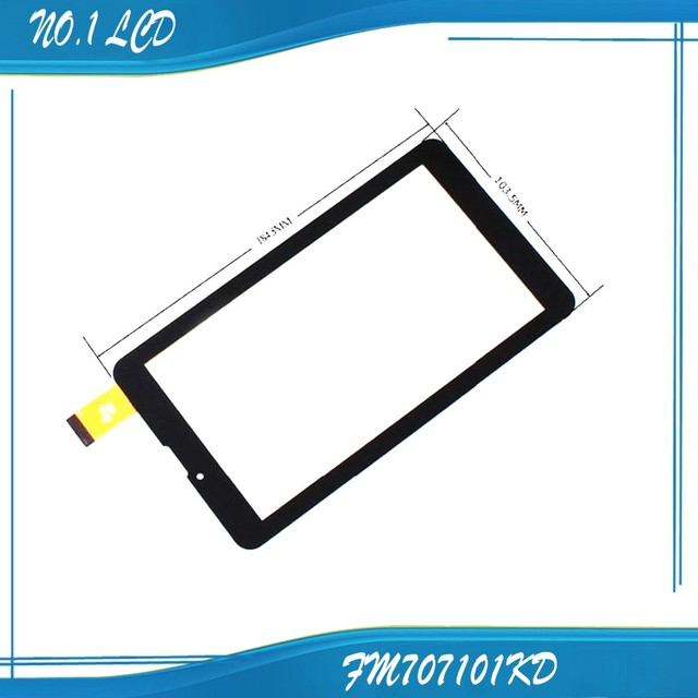 """New Touch Screen 7"""" Prestigio Multipad Wize 3057 3G PMT3057 Tablet Touch Panel digitizer glass Sensor Free Shipping"""