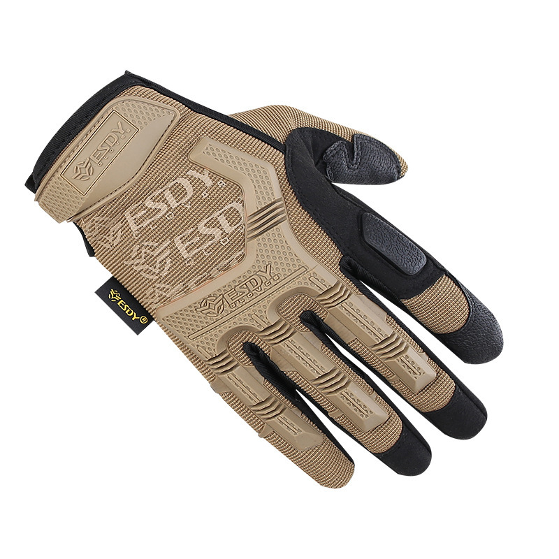 Hot Sale Tactical Gloves Cs Military Outdoors Camping Climbing Cycling Full Finger Hiking Sports Training Men Women Mittens