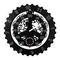 DIY Большой Механический Стиль Настенные механические часы Современный дизайн вращение многофункциональные креативные шестерни настенные