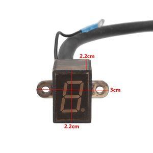 6 скоростей N-6 12В водонепроницаемый мотоцикл цифровой индикатор переключения передач светодиодный цифровой рычаг переключения сенсоров