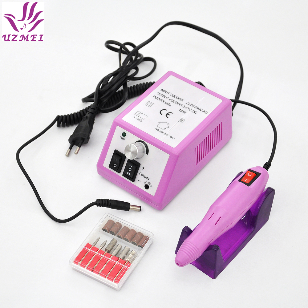 Elektrisk Profesjonell Nail Manicure Machine Manicure Pedicure Pen Tool Set Kit