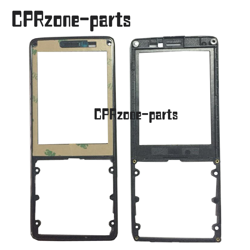 100% warranty Front housing without glass for Philips E570 CTE570 Mobile Xenium phone cellphone by free shipping