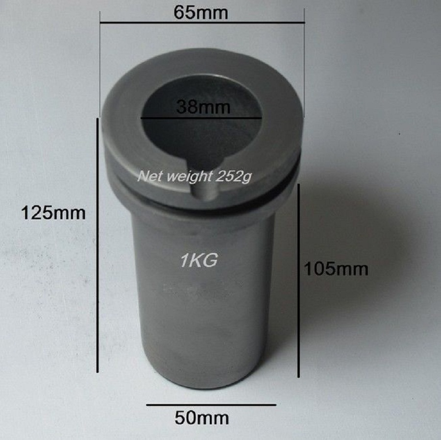 2kg Gold Melting Graphite Crucible in Digital Electric Smelting Furnaces,smelting electric furnace