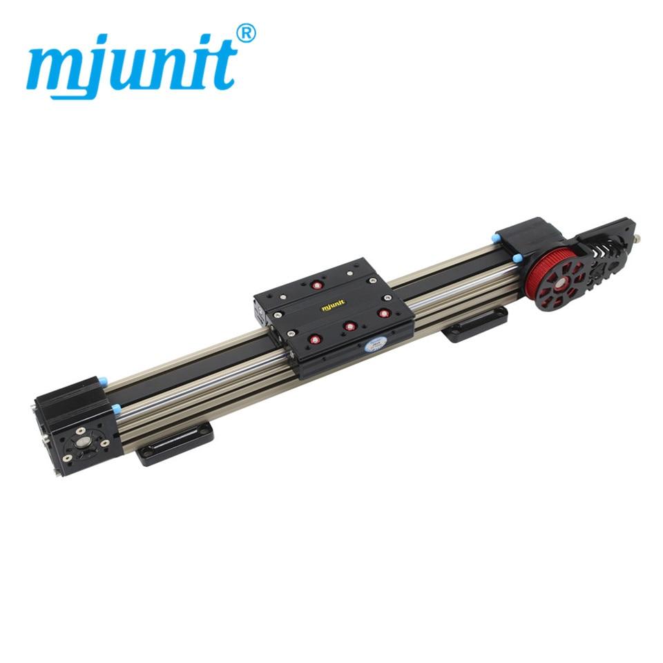 Mjunit 45N palier de mouvement linéaire synchrone avec table coulissante double axe portant le rail de guidage de module linéaire