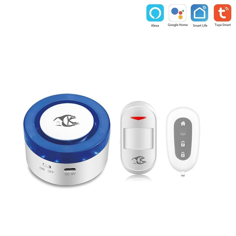 tuya alarm security system Smart home Home Security alarm WiFi Siren Tuya