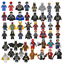 Single Sale Batman Spider Iron Man Super Heroes Building Blo