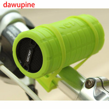 dawupine Bicycle Speaker MP3 Player USB TF Card Reader Slot Subwoofer Ride Audio Sport Speaker li-ion Battery