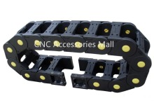 1 meter 25*103 Towline Enhanced Bridge-type Drag Chain with End Connectors for CNC Router Machine Tools