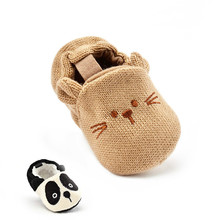 Fashion New Autumn Winter Baby Shoes Girls Boys First Walkers Newborn Crib Shoes 0-18M Shoes